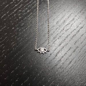 Dainty Evil Eye Necklace